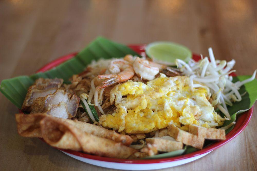 Rice noodle Thai