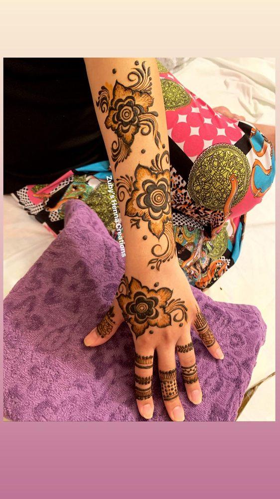 Zuby's Henna Creations: Plano, TX