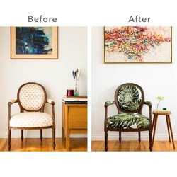 Photo Of Revitaliste   San Francisco, CA, United States. Grandmau0027s Chair  Transformed With