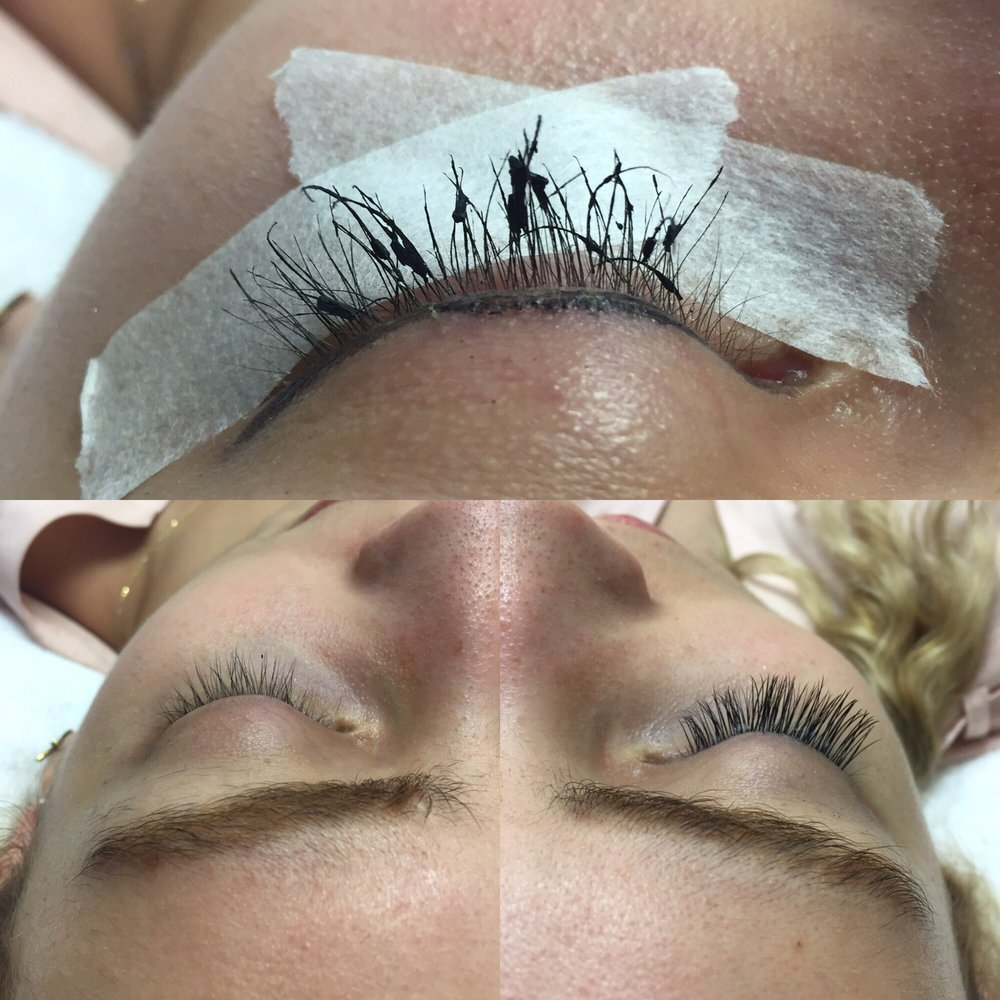 Lash Removal And New Set Yelp