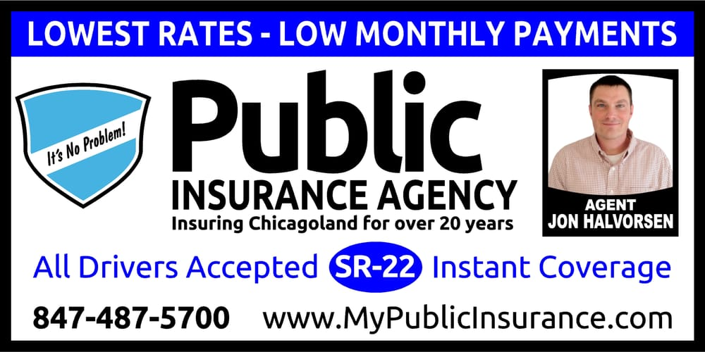 Public Insurance Agency. SR22 Insurance. Low cost auto ...