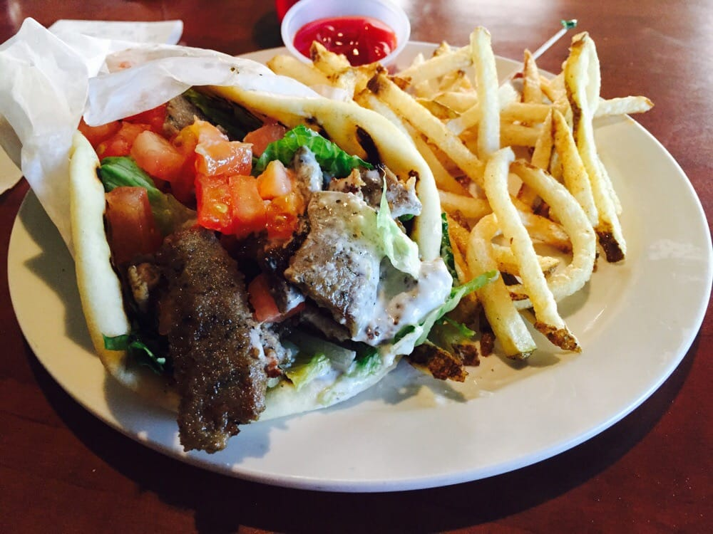 Gyro Sandwich & Fries... My Way!