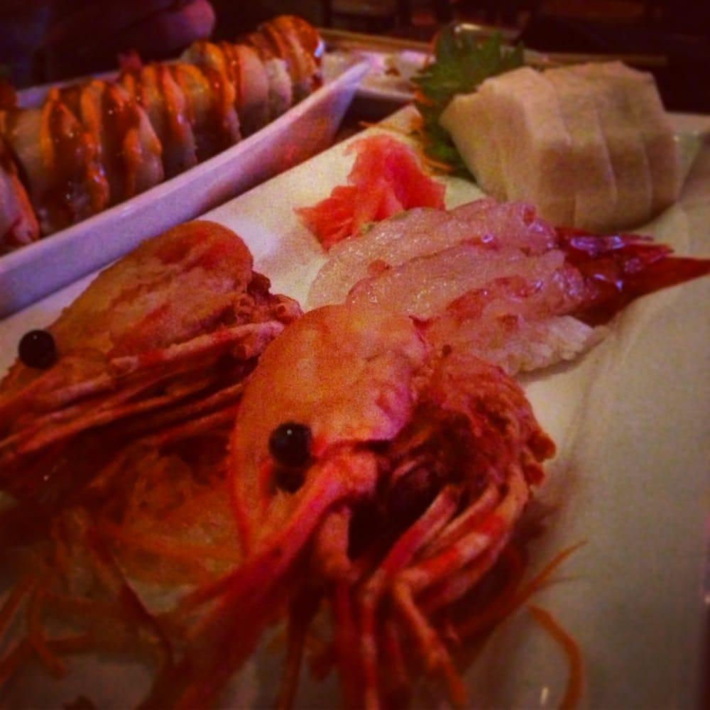 Sweet shrimp white tuna yelp for Drunken fish kc
