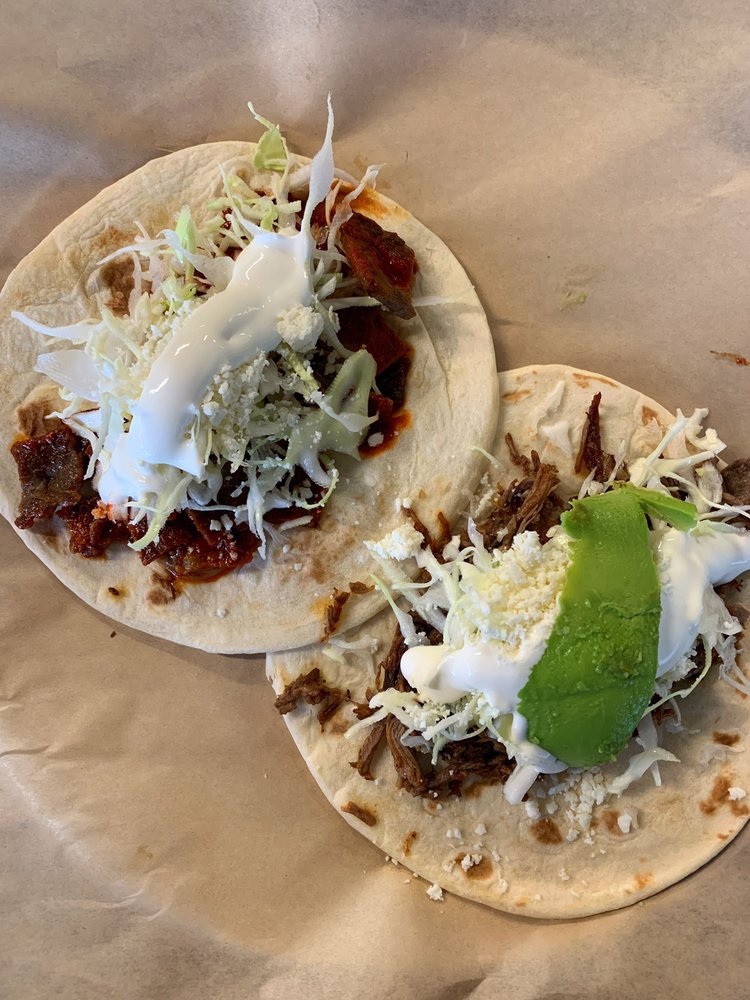 Food from Papalote Taco House
