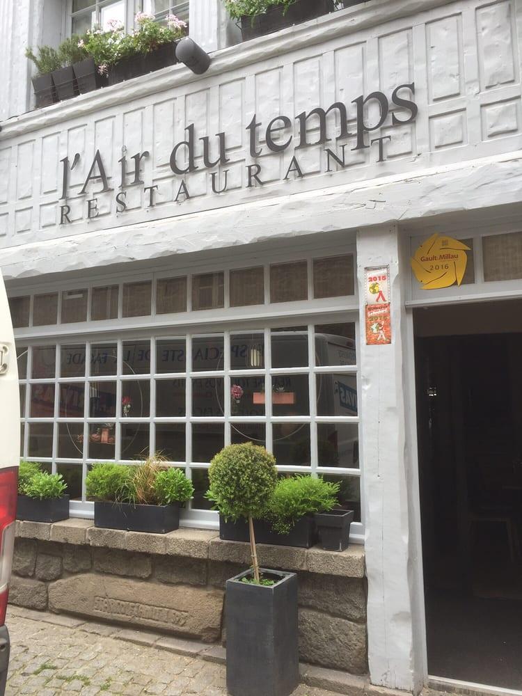 Air Du Temps St Brieuc Restaurant