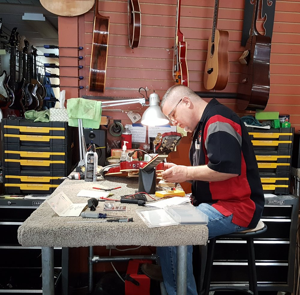 Traverse City Guitar Company: 322 E Front St, Traverse City, MI