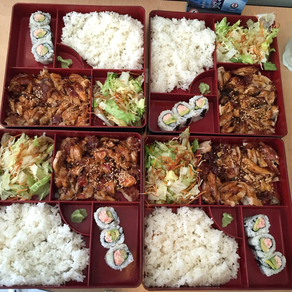 lunch special bento boxes under 7 each yelp. Black Bedroom Furniture Sets. Home Design Ideas