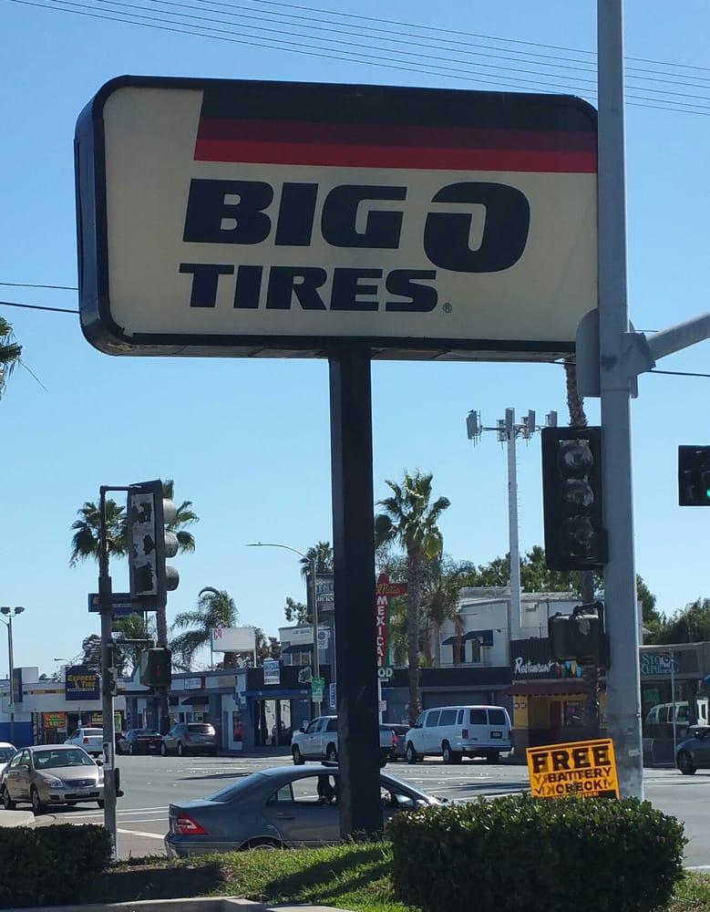 Big o tires coupon california