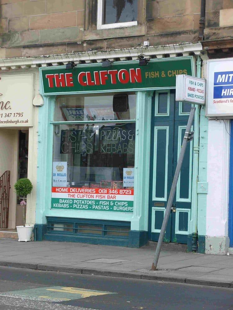 Clifton fish bar fish n 39 chips 10 clifton terrace for 3 clifton terrace edinburgh