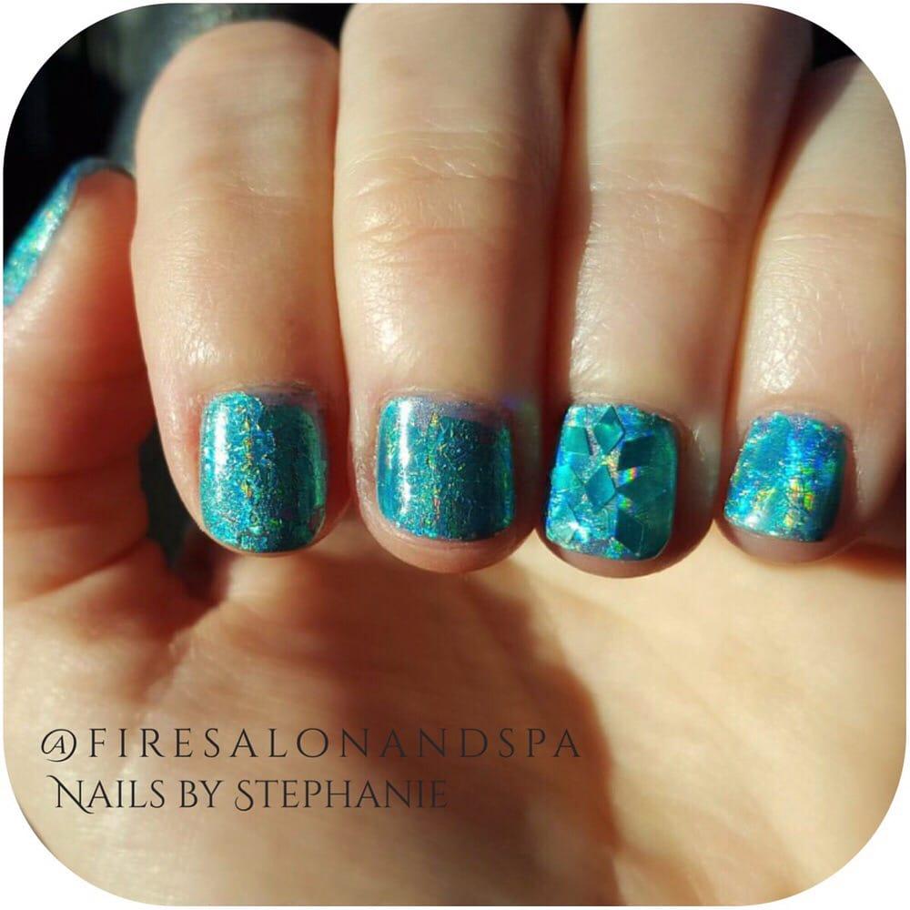 Nails by Stephanie Shelton. Instagram @firesalonandspa - Yelp