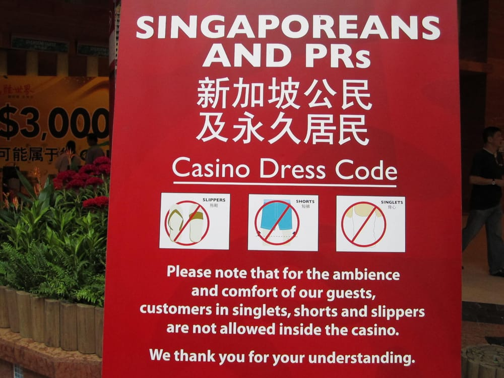 Singapore casino dress code casino royale the movie online