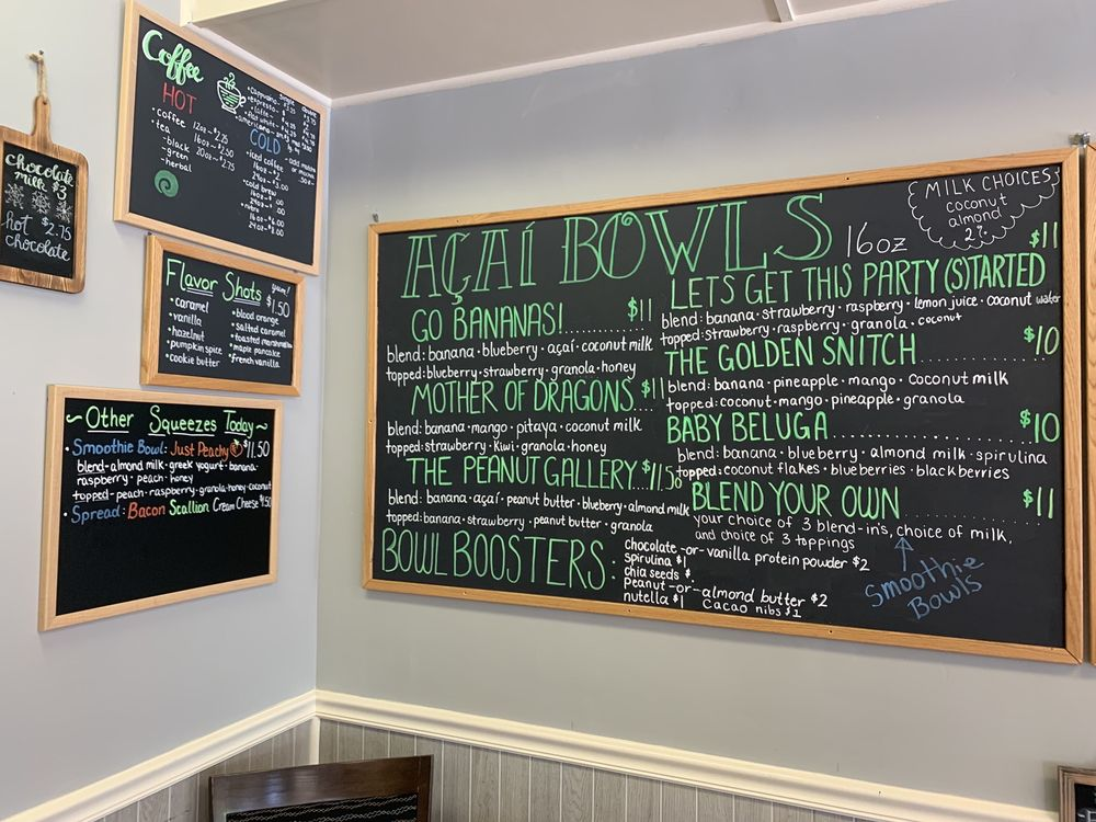 Blend Superfood Cafe: 25 E Main St, Clinton, CT