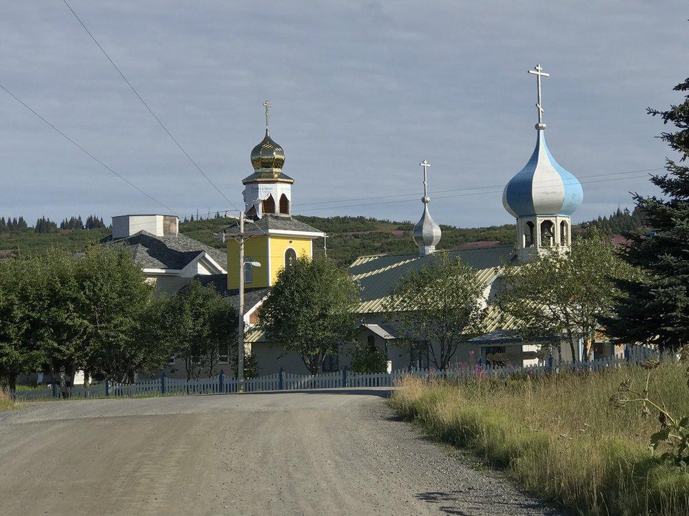 Samovar Cafe: 64935 Nikolaevsk Rd, Nikolaevsk, AK
