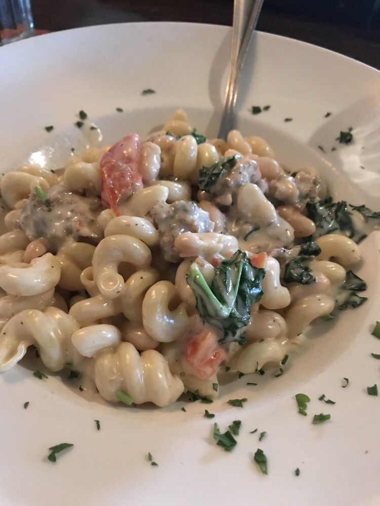 Sausage And Canaloni Bean Pasta Restaurant Week Yelp
