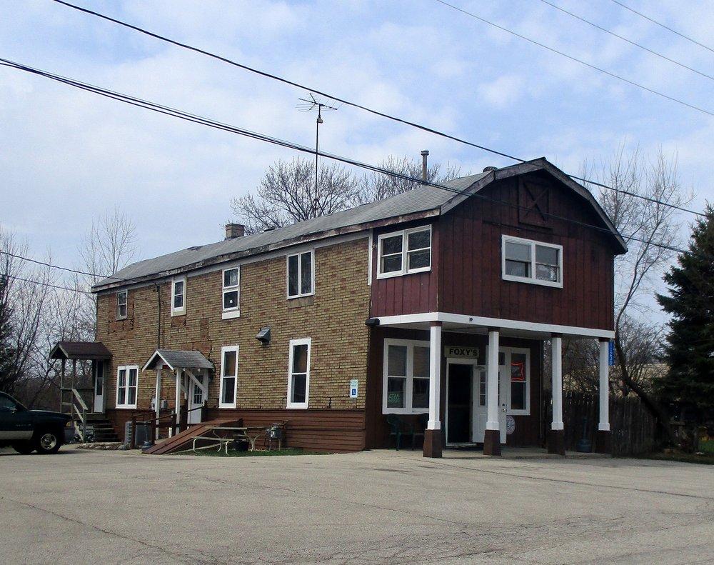 Foxy's Bar: 11230 260th Ave, Trevor, WI