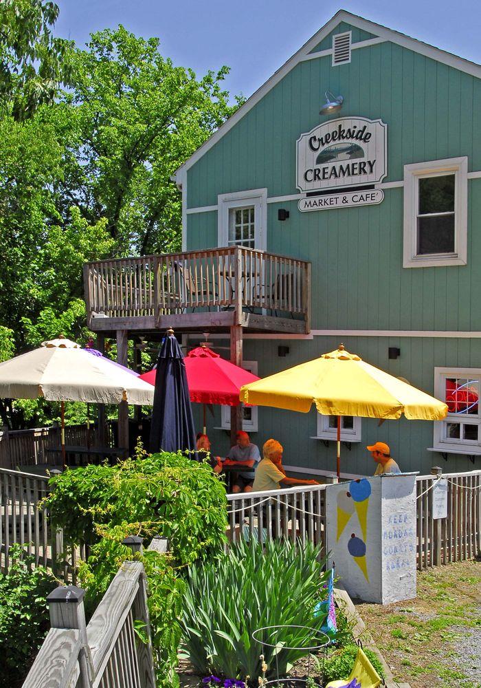 Creekside Creamery: 123 Congress St, Berkeley Springs, WV