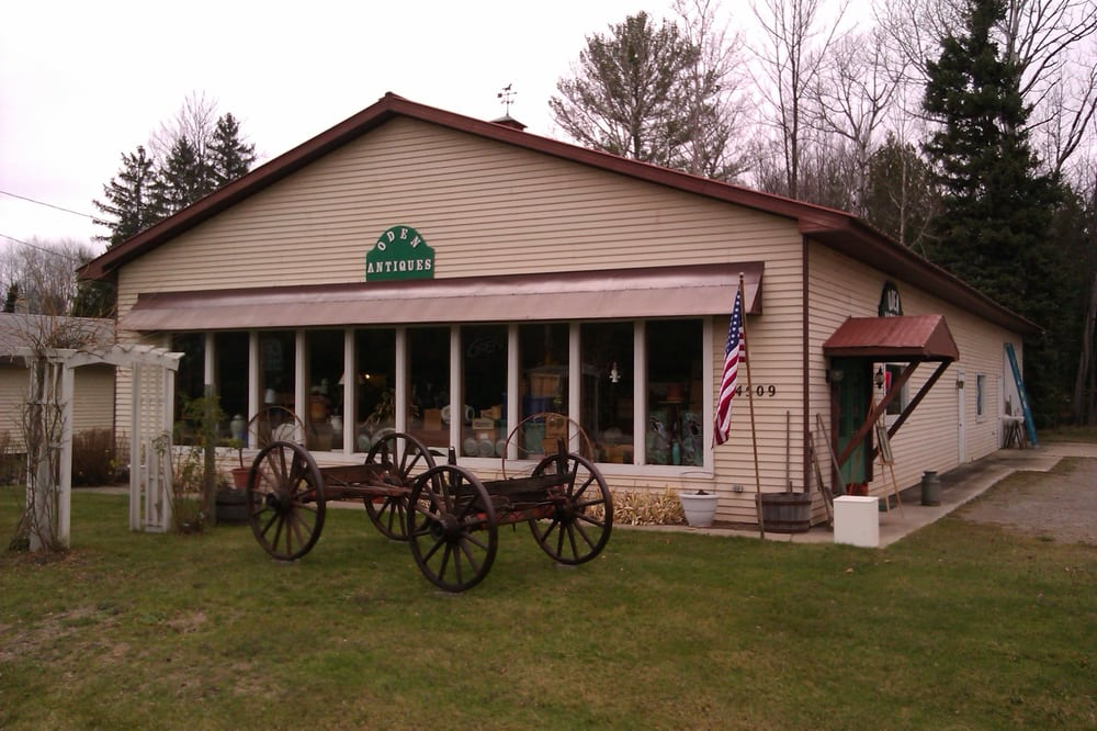 Oden Antiques: 4509 Oden Rd, Alanson, MI