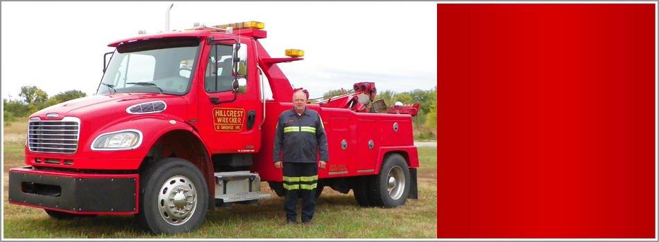 Hillcrest Wrecker & Garage: 3700 Franklin Park Cir, Lawrence, KS