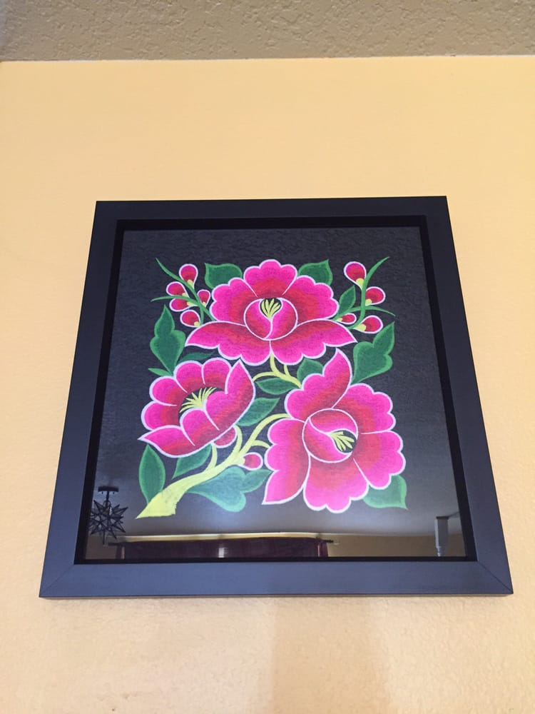 Hmong Embroidery Framed Beautifully By Kb Frame Thank You Yelp