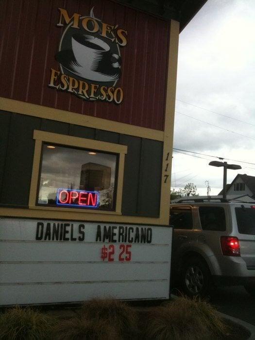 Moe's Espresso: 117 W Division St, Arlington, WA