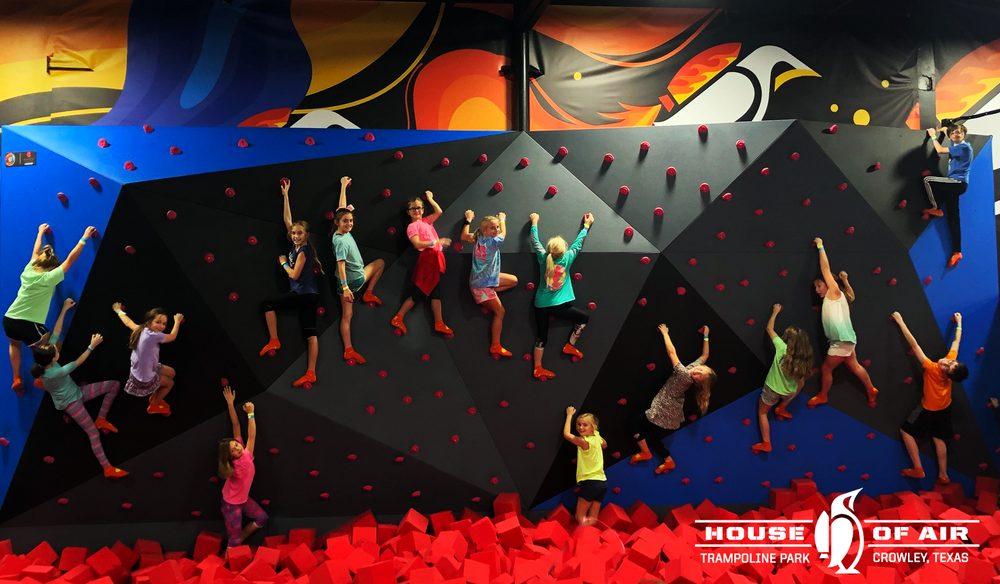 House of Air Trampoline & Ninja Park: 320 E Main St, Crowley, TX