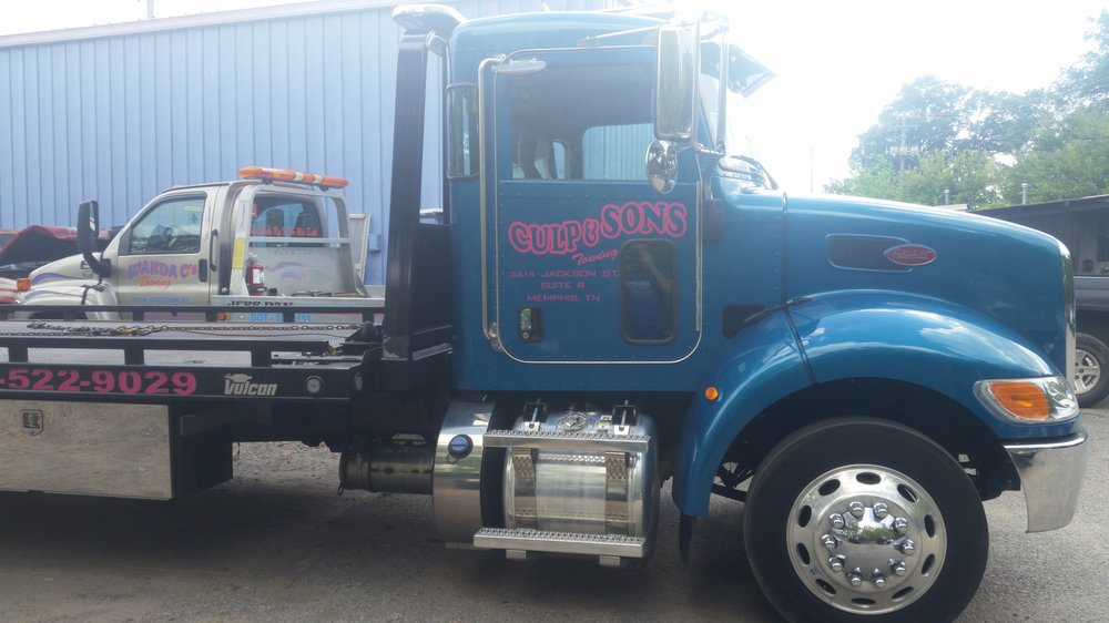 Culp & Sons Towing: 3614 Jackson Ave, Memphis, TN