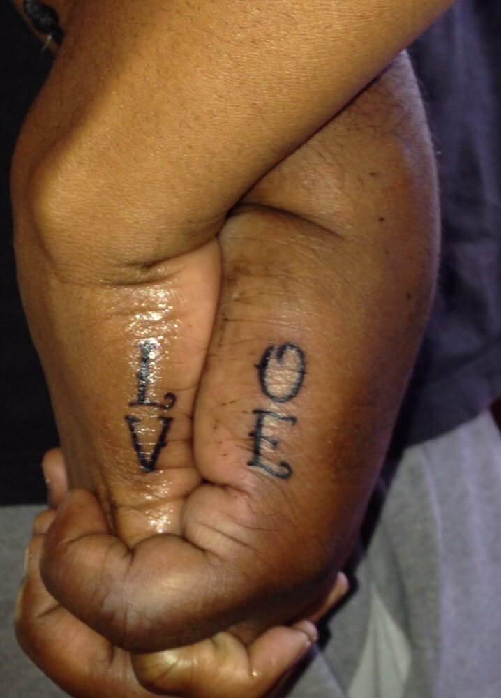 His Hers Tattoo For Our Wedding Anniversary Yelp