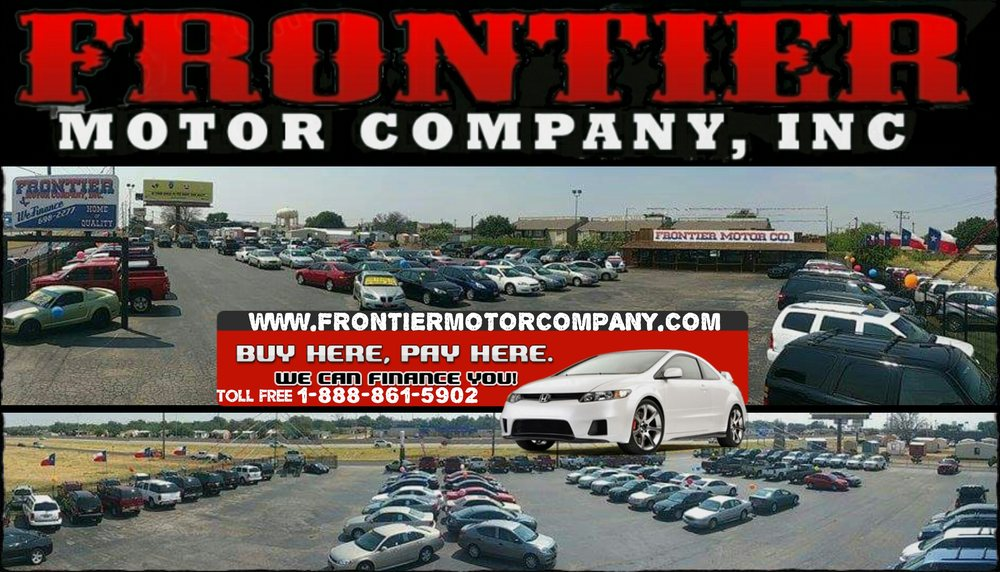 we are abilene 39 s 1 buy here pay here dealership and we