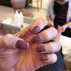 Photo of Lucky Nails - Baton Rouge, LA, United States. Paula works her