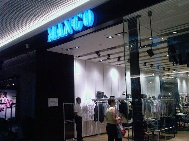 Mango damenmode 17 rue du docteur bouchut part dieu lyon frankreich - Rue docteur bouchut lyon ...