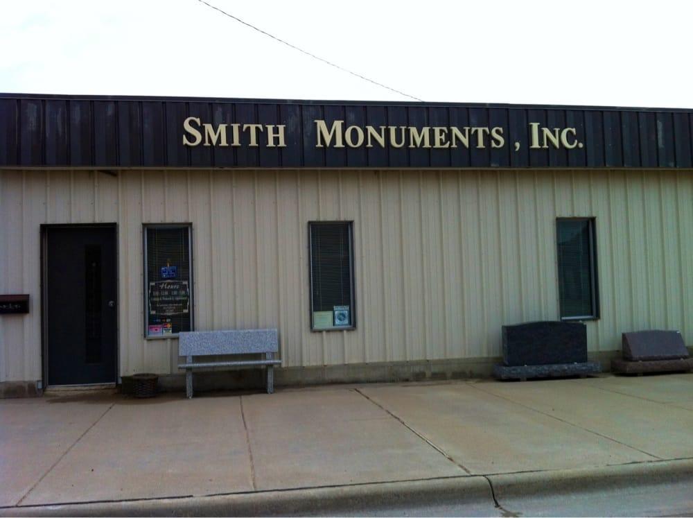 Smith Monuments: 101 S Cedar St, Stockton, KS