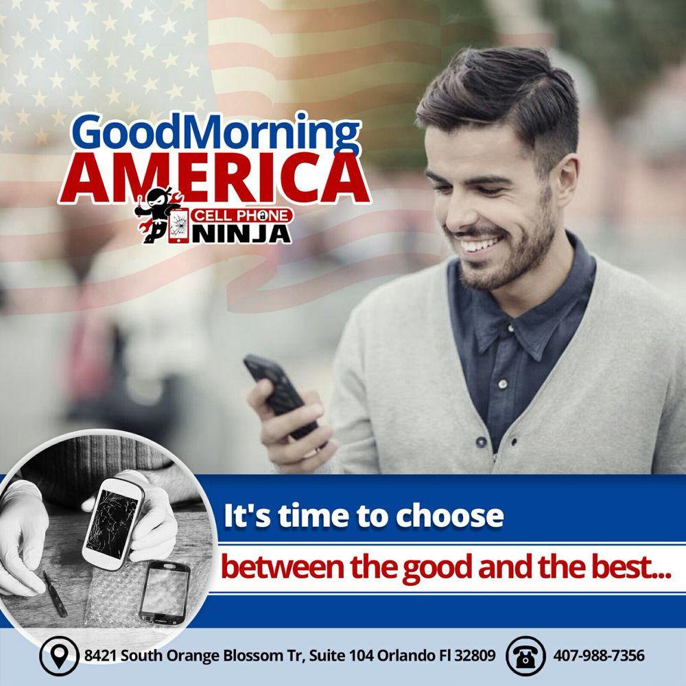 CELL PHONE NINJA repair and unlock Orlando
