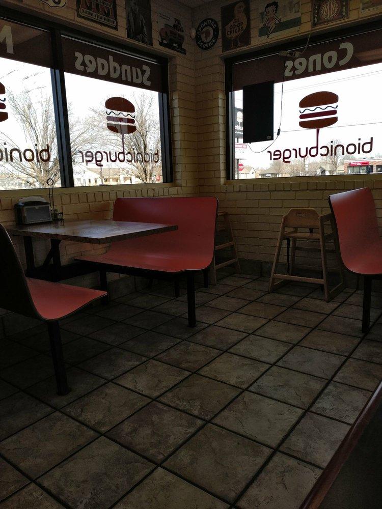 Bionic Burger: 243 N Main St, Haysville, KS
