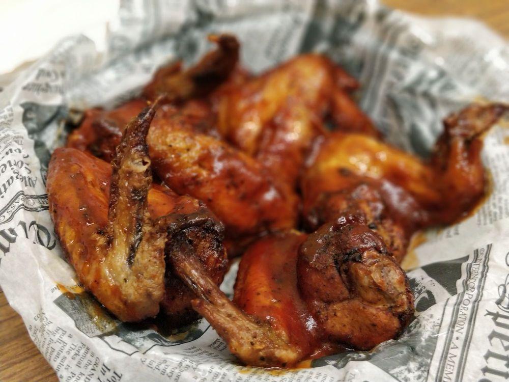 Food from Maudes Alabama BBQ