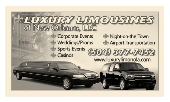 Luxury Limousines of New Orleans: 4333 Euphrosine St, New Orleans, LA