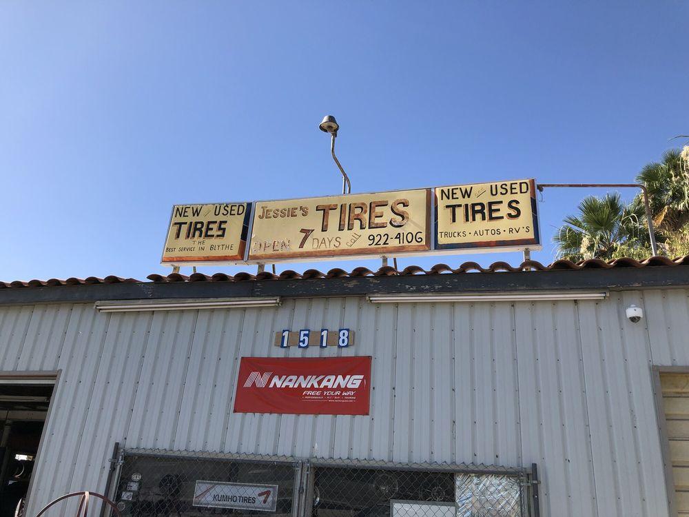 Jessie's Tire Service: 1518 E Hobsonway, Blythe, CA