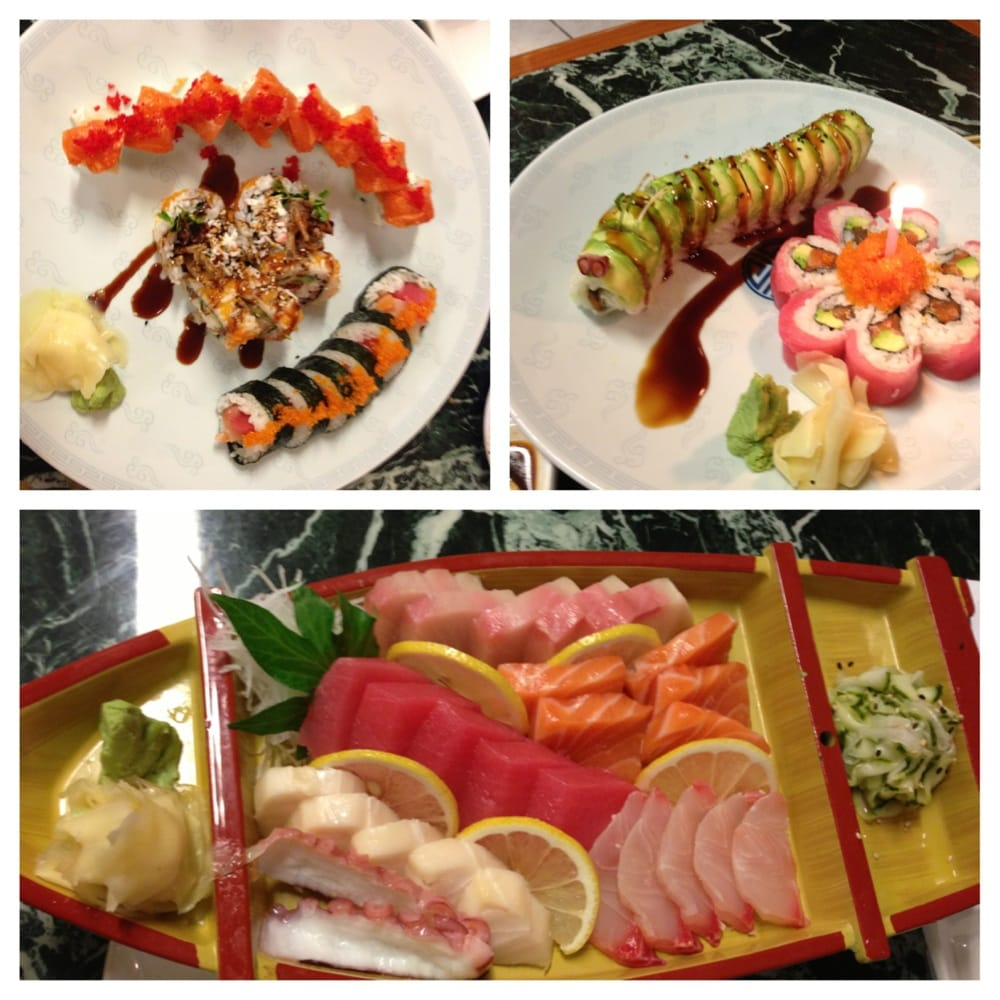 Spider roll nasty roll crazy horse caterpillar cherry for Flying fish bar and grill