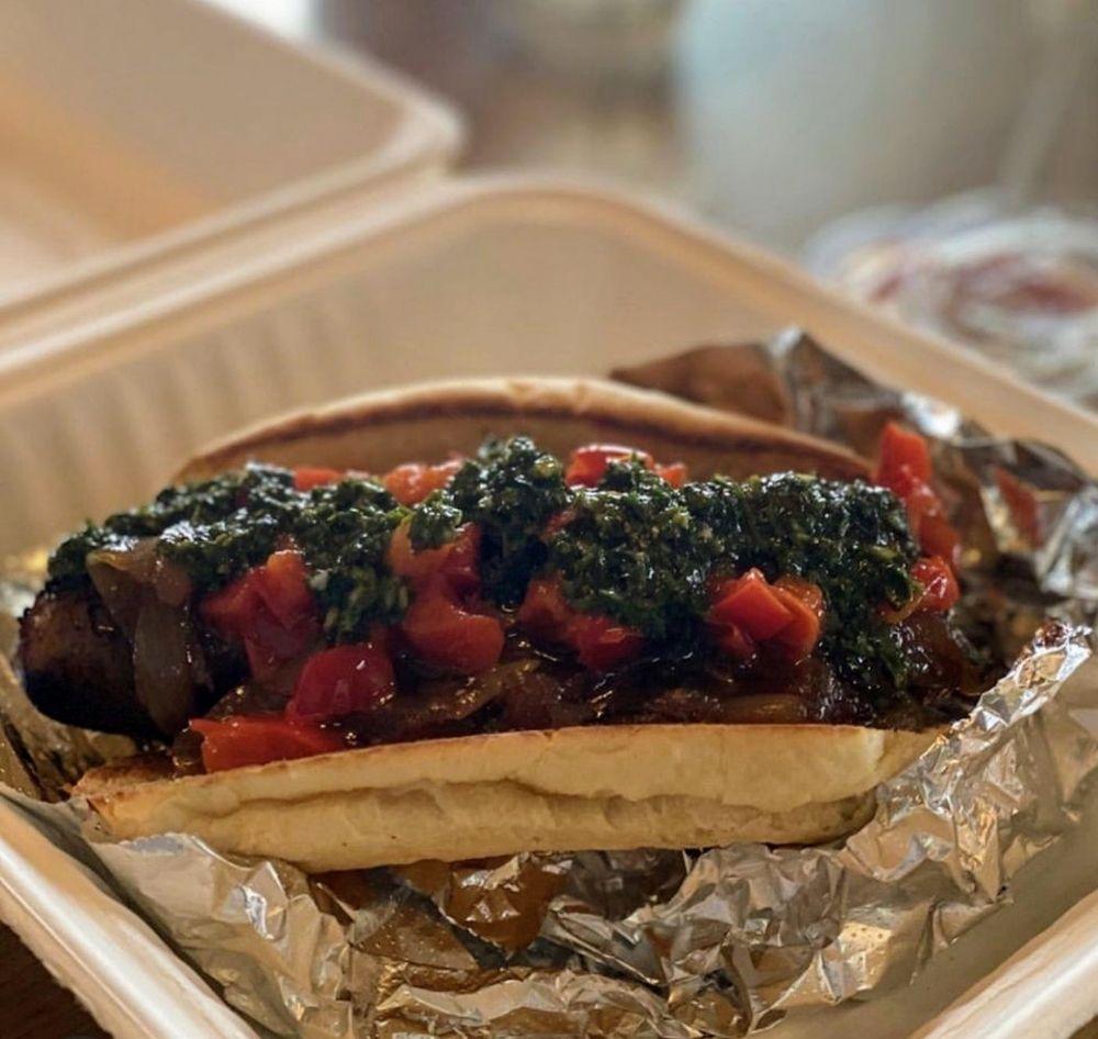Food from Bangers & Brews - Westside