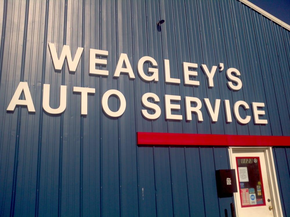 Weagley's Auto Service: 1123 E 38th St, Marion, IN