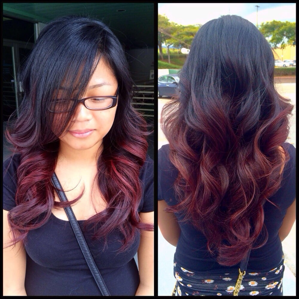 Violet Red Ombre Stylist Kimmie Yelp