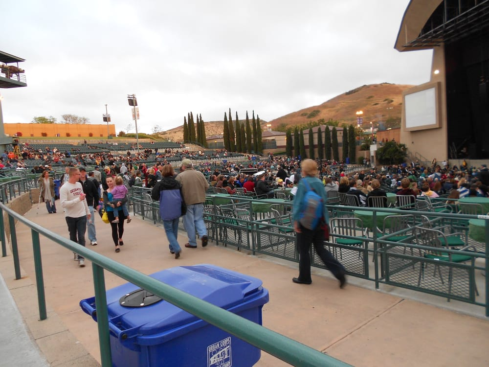 Cricket wireless amphitheatre lawn
