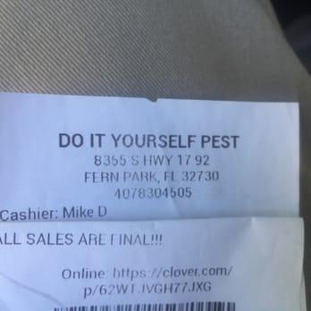 do it yourself pest.com