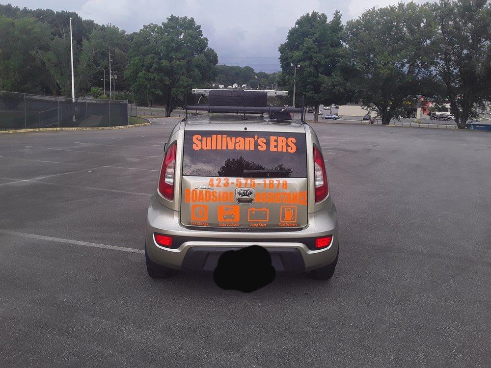 Sullivan's ERS: 1195 Riverside Rd, Bluff City, TN