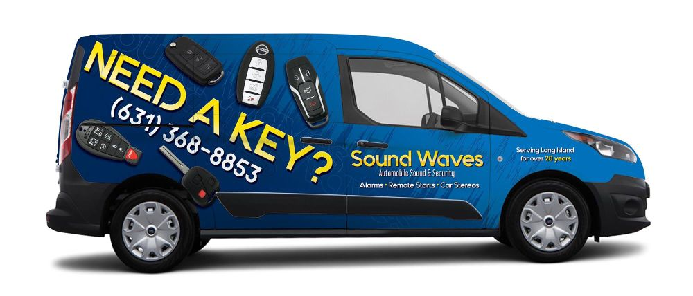 Sound Waves Automobile Sound & Security: 323 Larkfield Rd, East Northport, NY