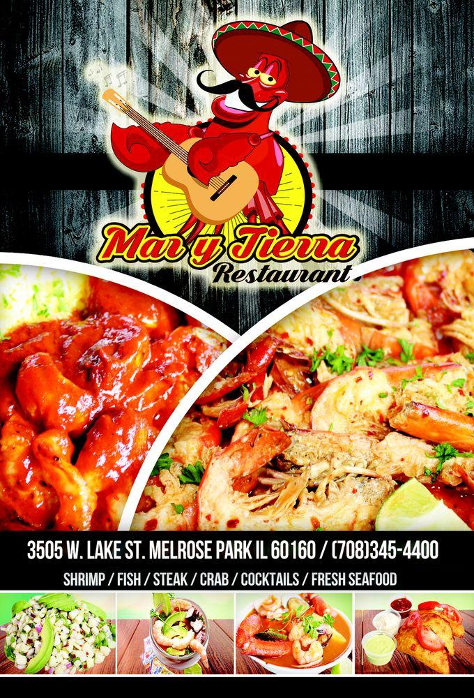 Mar Y Tierra Restaurant: 3505 W Lake St, Melrose Park, IL
