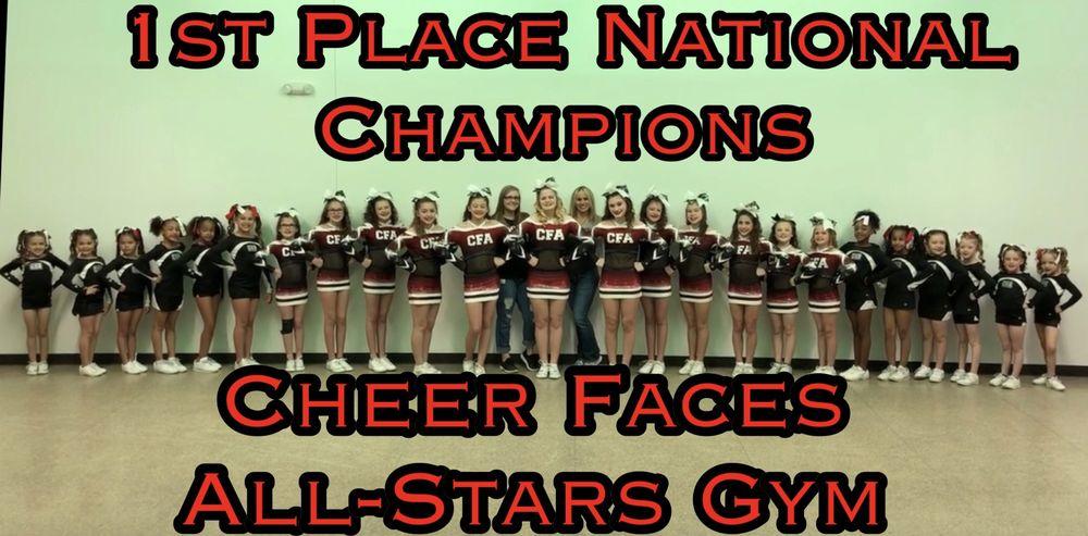 Cheer Faces All-StarZ Gym: 7723 W Hwy 175, Crandall, TX