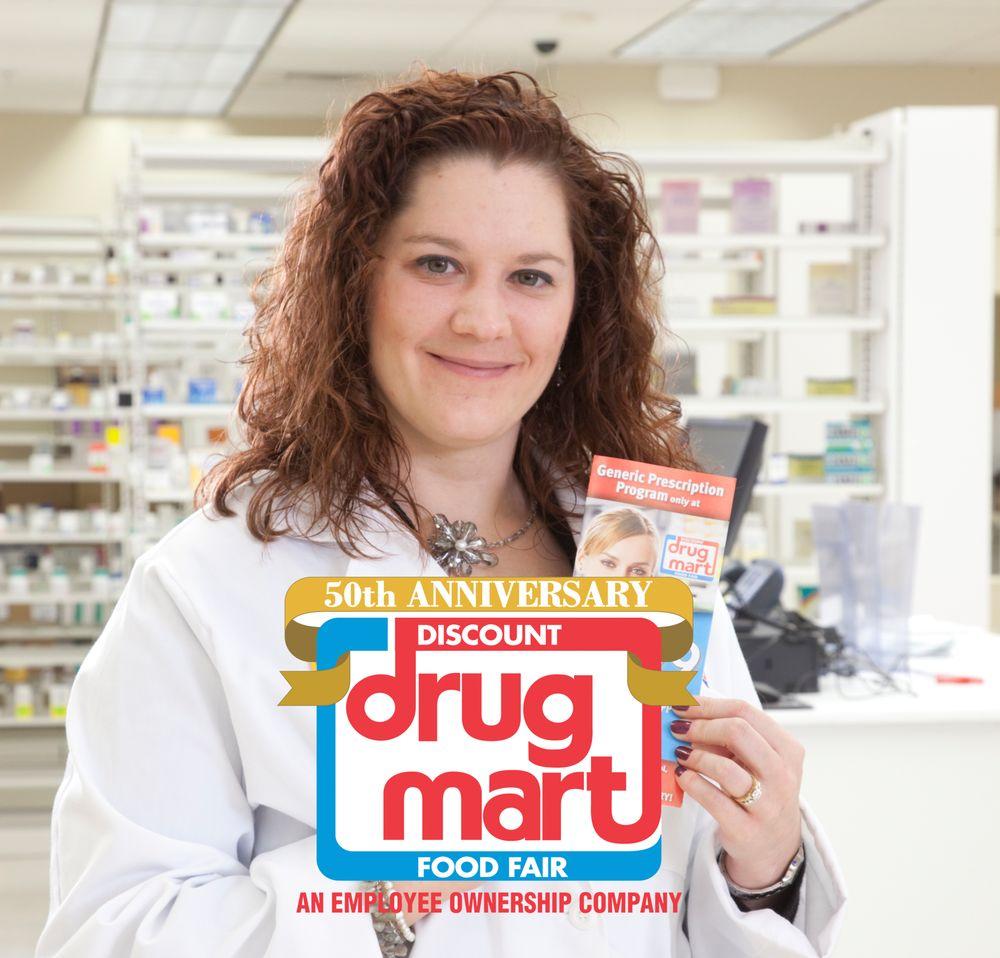 Discount Drug Mart: 107 S Chestnut St, Jefferson, OH