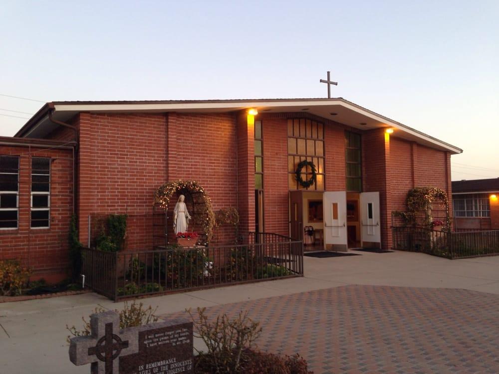 Queen of Angels Catholic Church: 3495 Rucker Rd, Lompoc, CA
