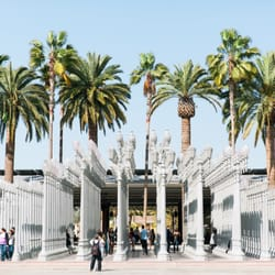 Photo Of Urban Light At LACMA   Los Angeles, CA, United States ...