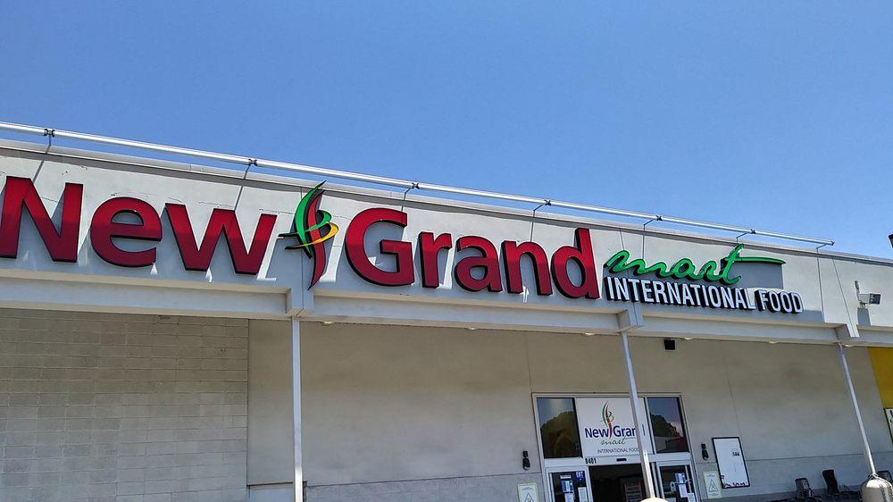 New Grand Mart International Food: 8401 Annapolis Rd, New Carrollton, MD